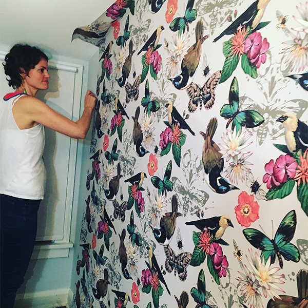 Ashley Cecil Wallpaper Installation