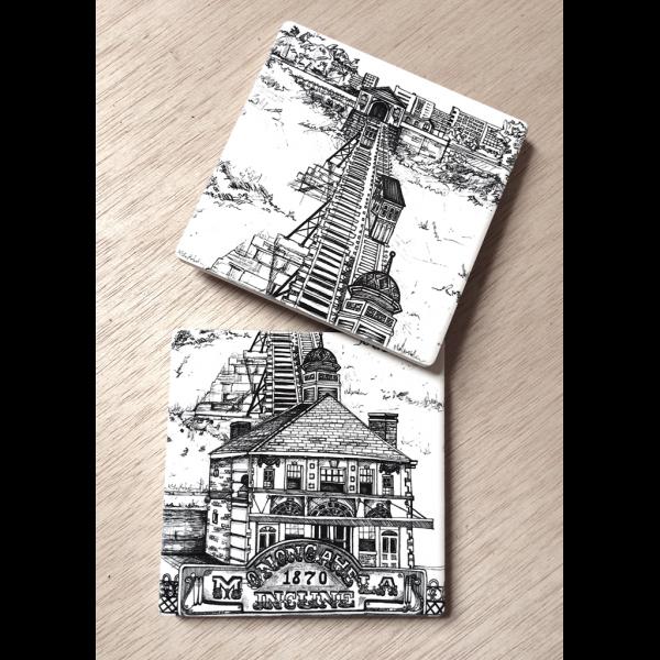 KLoRebel Art Sandstone Art Coasters