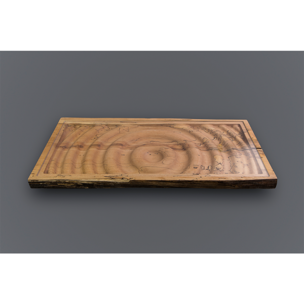 Deep Green Woodworks Ripples Coffee Table Top