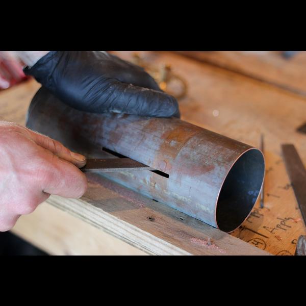 EngineHouse Adjustable Copper Pendant