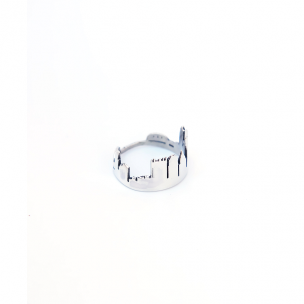 Frost Finery Pittsburgh Skyline Ring