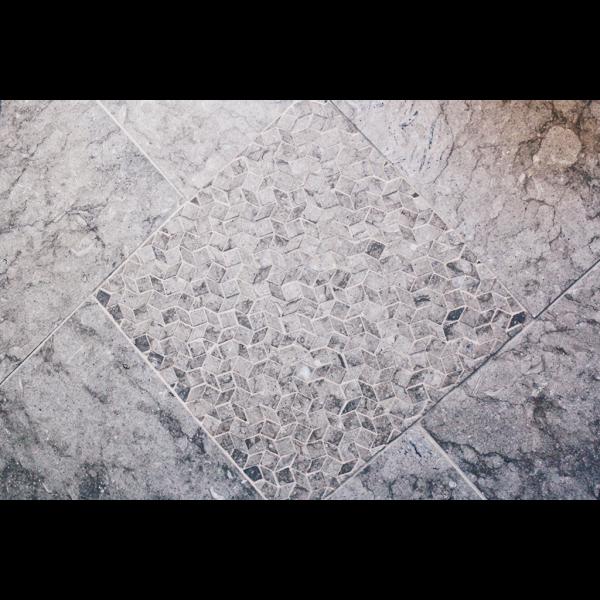 Glenn Olcerst Stonework Mosaic Bathroom