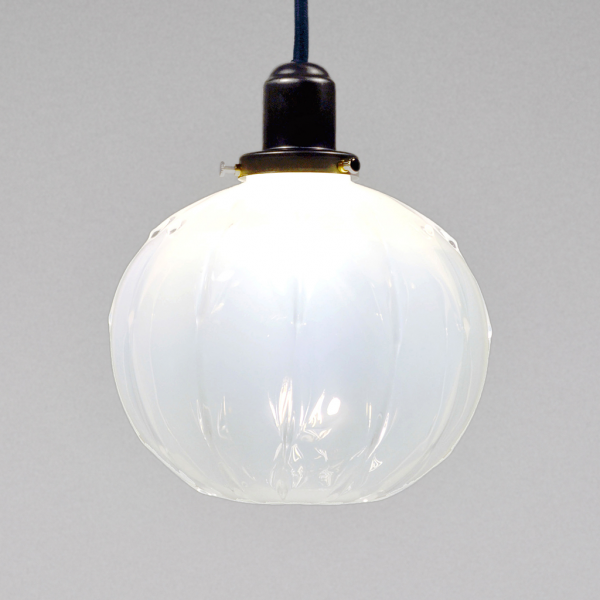 Jarrod Futscher Alabaster Globe Pendant Light