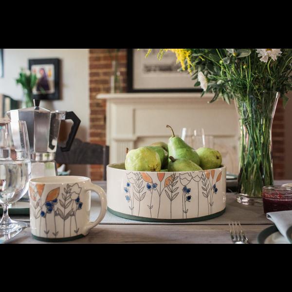 Jenna Vanden Brink Ceramics Porcelain Collection