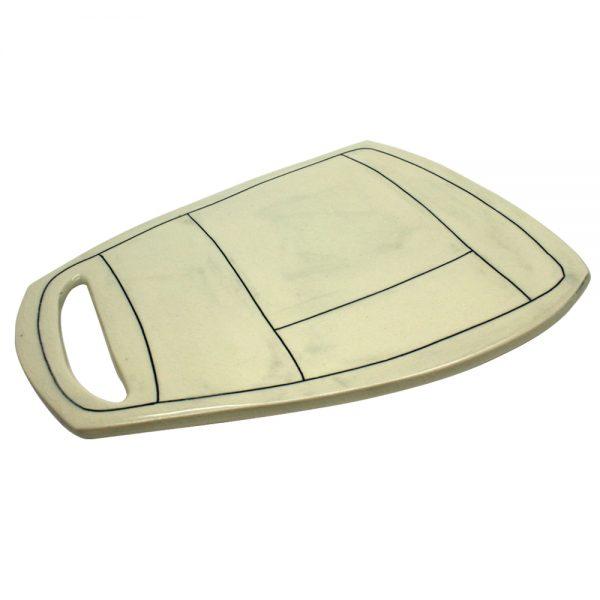 Magnet Ceramics Apron Platter