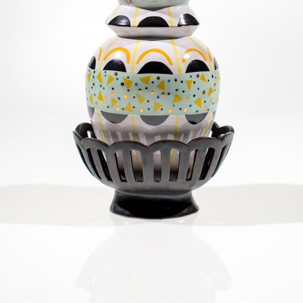 Margaret Haden Cutout Vase