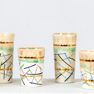 Margaret Haden Ceramics Tumblers