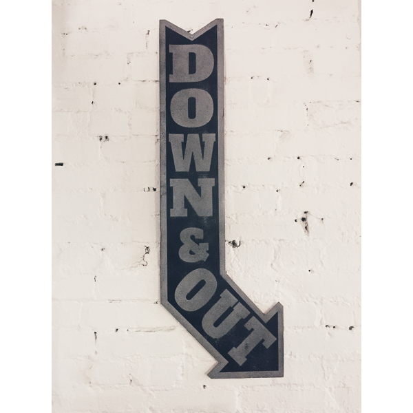 Modesto Studios Screen Printed Signs