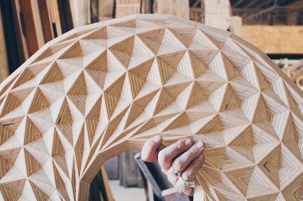 Woven Sevens Islamic Art Screen - Naked Geometry