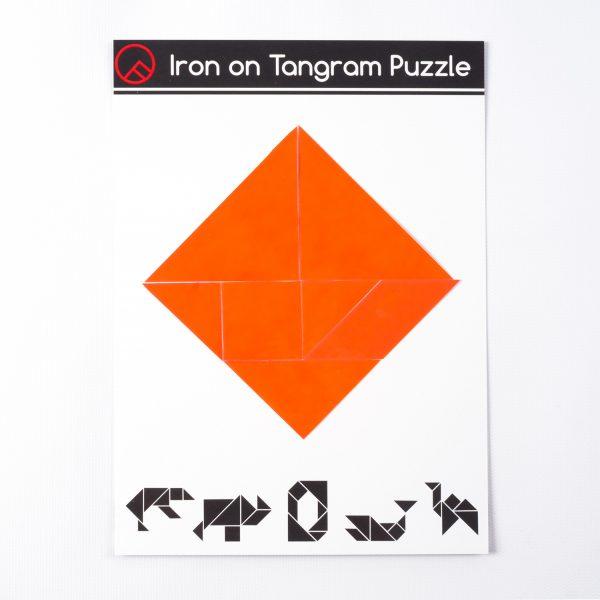 OTTO FINN Iron-on Tangram Puzzle Kit