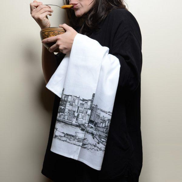 KLoRebel Art Hand Drawn Bar Towels